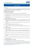 Tiêu chuẩn nghề Du lịch Việt Nam - Đơn vị năng lực FOS2.4: Cung cấp dịch vụ tại quầy thông tin và hỗ trợ hành lý (concierge)