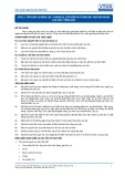 Tiêu chuẩn nghề Du lịch Việt Nam - Đơn vị năng lực FPS3.2: Chuẩn bị, chế biến và trình bày món ăn nguội cao cấp/tổng hợp