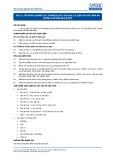 Tiêu chuẩn nghề Du lịch Việt Nam - Đơn vị năng lực FPS1.4: Chuẩn bị các loại rau, củ, quả cho các món ăn không chế biến qua nhiệt