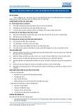 Tiêu chuẩn nghề Du lịch Việt Nam - Đơn vị năng lực TGS1.1: Cung cấp nhiệm vụ hỗ trợ dẫn đoàn du lịch