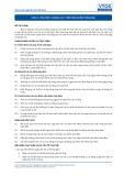 Tiêu chuẩn nghề Du lịch Việt Nam - Đơn vị năng lực FOS3.1: Tiến hành kiểm toán đêm