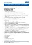 Tiêu chuẩn nghề Du lịch Việt Nam - Đơn vị năng lực FPS1.25: Chuẩn bị, chế biến và trang trí các loại bánh ngọt, bạt bánh ga tô, bánh qui và bánh nướng