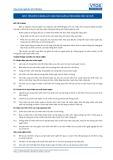 Tiêu chuẩn nghề Du lịch Việt Nam - Đơn vị năng lực HRS7: Đào tạo huấn luyện nhân viên tại chỗ