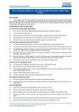 Tiêu chuẩn nghề Du lịch Việt Nam - Đơn vị năng lực TGS3.5: Thực hiện và hoàn thành một chương trình du lịch