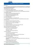 Tiêu chuẩn nghề Du lịch Việt Nam - Đơn vị năng lực FBS1.7: Dọn bàn ăn
