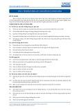 Tiêu chuẩn nghề Du lịch Việt Nam - Đơn vị năng lực FOS1.3: Cung cấp dịch vụ khách hàng