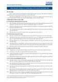 Tiêu chuẩn nghề Du lịch Việt Nam - Đơn vị năng lực HRS5: Tuyển dụng, tuyển chọn và giữ nhân viên