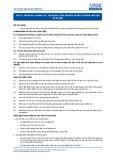 Tiêu chuẩn nghề Du lịch Việt Nam - Đơn vị năng lực TGS2.8: Trình bày trải nghiệm về môi trường văn hóa và di sản