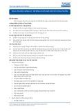 Tiêu chuẩn nghề Du lịch Việt Nam - Đơn vị năng lực TOS3.4: Mở rộng và cập nhập kiến thức về địa phương