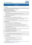 Tiêu chuẩn nghề Du lịch Việt Nam - Đơn vị năng lực TBS2.1: Phòng tránh, kiểm soát và chữa cháy trên tàu du lịch
