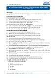 Tiêu chuẩn nghề Du lịch Việt Nam - Đơn vị năng lực FPS2.19: Chuẩn bị, chế biến và hoàn thiện các món tráng miệng lạnh