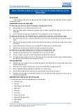 Tiêu chuẩn nghề Du lịch Việt Nam - Đơn vị năng lực TGS4.8: Quản lý báo cáo về chương trình du lịch và khách hàng
