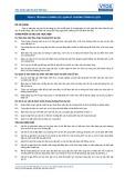 Tiêu chuẩn nghề Du lịch Việt Nam - Đơn vị năng lực TOS4.4: Quản lý chương trình du lịch