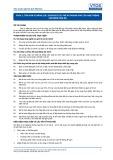 Tiêu chuẩn nghề Du lịch Việt Nam - Đơn vị năng lực FPS4.2: Giám sát chi phí và doanh thu của hoạt động chế biến món ăn
