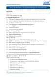 Tiêu chuẩn nghề Du lịch Việt Nam - Đơn vị năng lực HKS2.2: Vận hành bộ phận giặt là của khách sạn