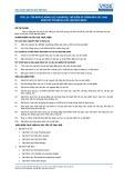 Tiêu chuẩn nghề Du lịch Việt Nam - Đơn vị năng lực FPS1.24: Chuẩn bị, chế biến và trình bày các loại bánh mỳ cơ bản và các loại bạt bánh