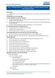 Tiêu chuẩn nghề Du lịch Việt Nam - Đơn vị năng lực TOS2.1: Chuẩn bị thông tin chương trình du lịch để giới thiệu cho khách