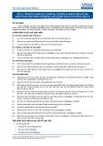Tiêu chuẩn nghề Du lịch Việt Nam - Đơn vị năng lực FPS3.3: Chuẩn bị, chế biến và hoàn thiện các sản phẩm từ bạt hạnh nhân (marzipan), bạt đường trang trí (pastillage) và sản phẩm đường