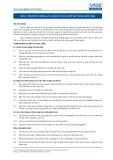 Tiêu chuẩn nghề Du lịch Việt Nam - Đơn vị năng lực HKS3.2: Quản lý dịch vụ đồ vải trong khách sạn