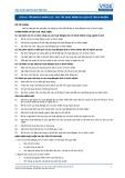 Tiêu chuẩn nghề Du lịch Việt Nam - Đơn vị năng lực RTS4.6: Duy trì hoạt động du lịch có trách nhiệm