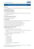 Tiêu chuẩn nghề Du lịch Việt Nam - Đơn vị năng lực GES10: Chuẩn bị và trình bày báo cáo
