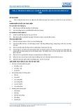 Tiêu chuẩn nghề Du lịch Việt Nam - Đơn vị năng lực FPS1.5: Chuẩn bị nguyên liệu cá cho các món cá cơ bản