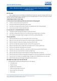 Tiêu chuẩn nghề Du lịch Việt Nam - Đơn vị năng lực FOS2.2: Cung cấp dịch vụ điện thoại và công nghệ thông tin (CNTT)