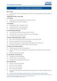 Tiêu chuẩn nghề Du lịch Việt Nam - Đơn vị năng lực HKS1.2: Dọn buồng khách