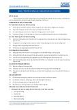 Tiêu chuẩn nghề Du lịch Việt Nam - Đơn vị năng lực HKS2.1: Cung cấp các dịch vụ buồng