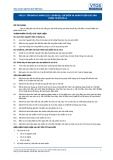 Tiêu chuẩn nghề Du lịch Việt Nam - Đơn vị năng lực FPS3.4: Chuẩn bị, chế biến và hoàn thiện các sản phẩm từ sô cô la