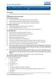 Tiêu chuẩn nghề Du lịch Việt Nam - Đơn vị năng lực FPS2.3: Sơ chế nguyên liệu cá để chế biến một số món cá