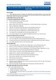 Tiêu chuẩn nghề Du lịch Việt Nam - Đơn vị năng lực TOS3.10: Vận hành hệ thông thông tin và đặt giữ chỗ trực tuyến