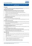 Tiêu chuẩn nghề Du lịch Việt Nam - Đơn vị năng lực RTS4.8: Áp dụng du lịch có trách nhiệm trong các dịch vụ lưu trú