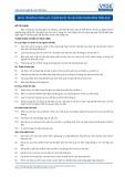 Tiêu chuẩn nghề Du lịch Việt Nam - Đơn vị năng lực GES16: Chuẩn bị các tài liệu kinh doanh bằng tiếng Anh