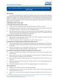 Tiêu chuẩn nghề Du lịch Việt Nam - Đơn vị năng lực HRS11: Thực hiện các quy định về sức khỏe và an toàn nghề nghiệp