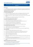 Tiêu chuẩn nghề Du lịch Việt Nam - Đơn vị năng lực TBS1.3: Sinh tồn trên biển trong trường hợp rời bỏ tàu