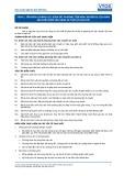 Tiêu chuẩn nghề Du lịch Việt Nam - Đơn vị năng lực TOS4.1: Giám sát phương tiện vận chuyển du lịch đảm bảo điệu kiện vận hành an toàn và sạch sẽ