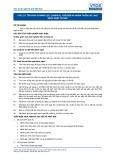 Tiêu chuẩn nghề Du lịch Việt Nam - Đơn vị năng lực FPS1.23: Chuẩn bị, chế biến và hoàn thiện các loại bánh ngọt cơ bản
