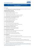 Tiêu chuẩn nghề Du lịch Việt Nam - Đơn vị năng lực TGS1.2: Chuẩn bị cá nhân cho công tác hướng dẫn du lịch