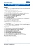 Tiêu chuẩn nghề Du lịch Việt Nam - Đơn vị năng lực TGS3.14: Chuẩn bị báo cáo về khách hàng và chương trình du lịch