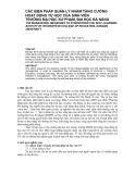 Các biện pháp quản lý nhằm tăng cường hoạt động tự học của sinh viên trường Đại học Sư Phạm, Đại học Đà Nẵng