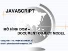 Bài giảng Thiết kế Web: Chương 7 - ThS. Phạm Đào Minh Vũ