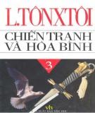 Tiểu thuyết sử thi - Chiến tranh và hòa bình (Tập 3): Phần 1