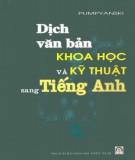 Luyện tập dịch văn bản khoa học và kỹ thuật sang tiếng Anh: Phần 2