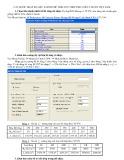 Các bước nhập số liệu SAP2000 để tính cốt thép theo tiêu chuẩn Việt Nam