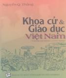 Ebook Khoa cử và giáo dục Việt Nam (tái bản lần thứ V, có bổ sung): Phần 1