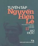 Ebook Tuyển tập Nguyễn Hiến Lê (Tập 2: Sử học): Phần 1