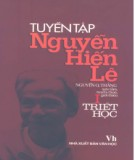 Ebook Tuyển tập Nguyễn Hiến Lê (Tập 1: Triết học): Phần 2