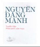 Tuyển tập phê bình văn học của Nguyễn Đăng Mạnh: Phần 1