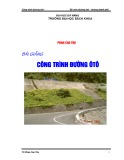 Bài giảng Công trình đường ôtô - Phan Cao Thọ